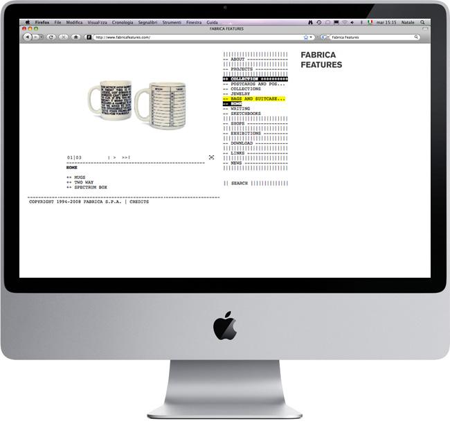 natale cardone fabrica feature website